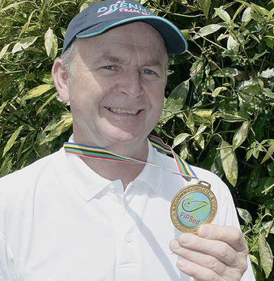 The latest in a long line of 'golden' moments... Steve's recent Merida medal.
