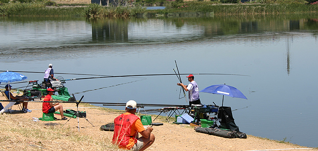 Top Belgian, Hans Slegers, also felt the crushing power of the Guadiana carp when his top five also crumbled under the pressure during day 2 in section E. He still managed to finish 5th in section with over 15kgs.